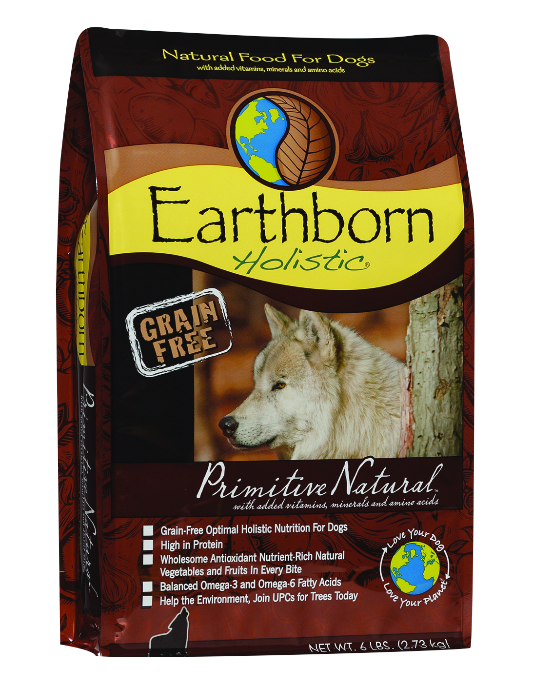 Earthborn Holistic Primitive Natural Dog Food  Lb