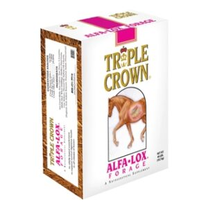 Triple Crown Alfa-Lox Forage for Horses 40lb