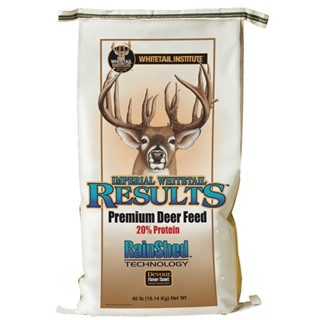 Imperial Whitetail Results 40 lb bag