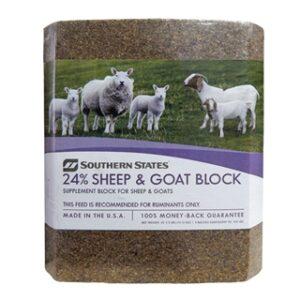 Southern States 24% Sheep & Goat Block 33 1/3 lb