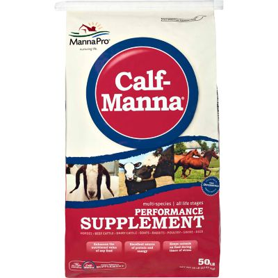 Calf Manna Performance Supplement 25lb
