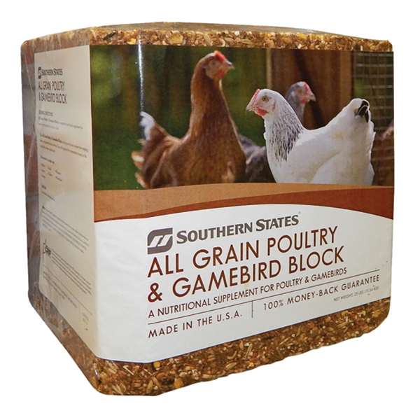 Southern States All Grain Poultry & Gamebird Block 25 lb