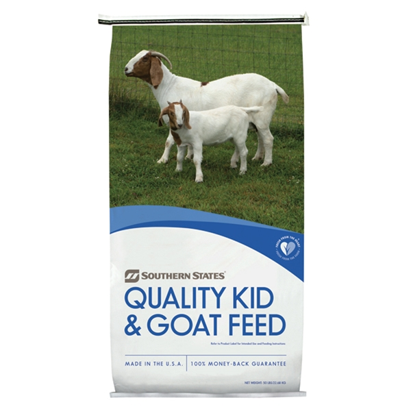 SOUTHERN STATES 15% PELLETED GOAT FEED 50 LB