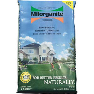 Milorganite Organic Nitrogen Fertilizer 36lb