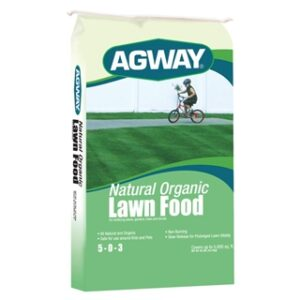 Agway Organic Lawn Food 5-0-03 40 lb