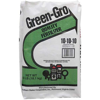 Southern States Green Gro Fertilizer 10-10-10 40lb