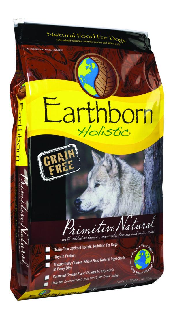Earthborn Holistic Primitive Natural Grain-Free Dog Food 28 lb