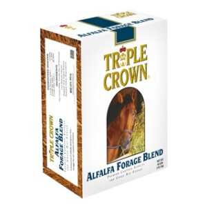 Triple Crown Alfalfa Forage Blend for Horses 40lb