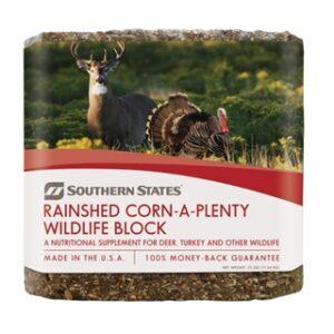 Southern States Rainshed Corn-A-Plenty Wildlife Block 25 lb
