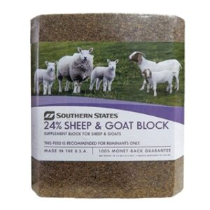Southern States 24% Sheep & Goat Block 33 1/3 lb