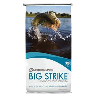 Southern States Big Strike Floating Fish Food for Ponds 40 lb Bag